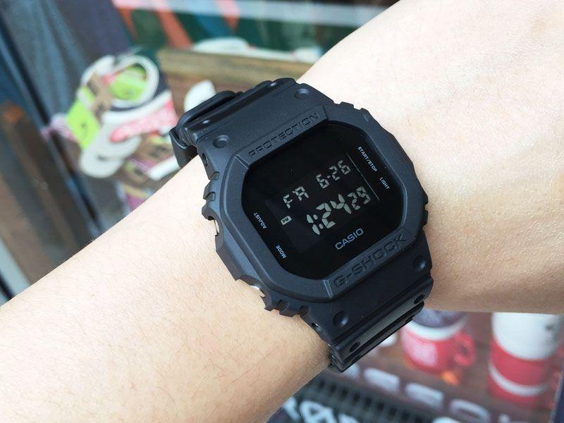 344e255fa6f Casio DW-5600-BB Basic Black Estilo Pessoal