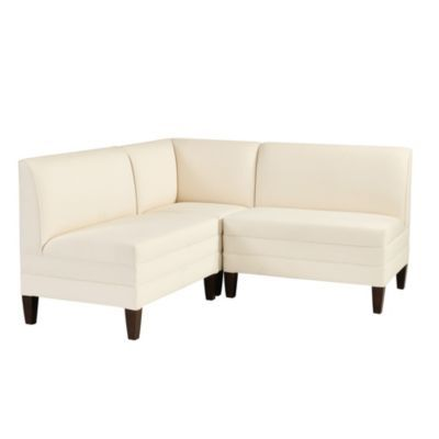 Bristol Sectional Two 36 Benches Corner Bench Ballard Designs Corner Bench Banquette Seating Dining Nook