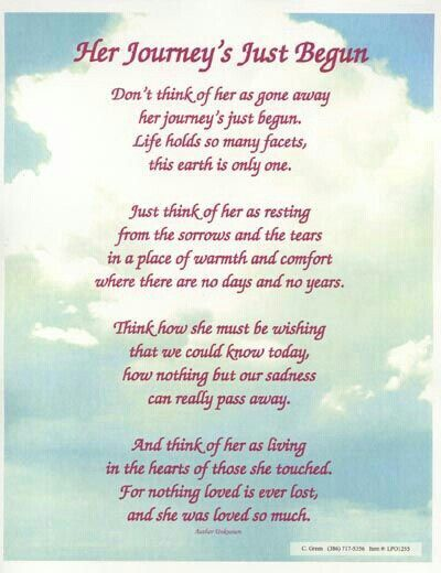 Poems For Grandmothers Funerals 1