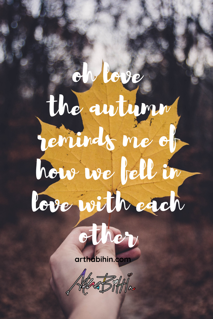 Love quotes for her, Autumn quotes, Love quotes for you girlfriend