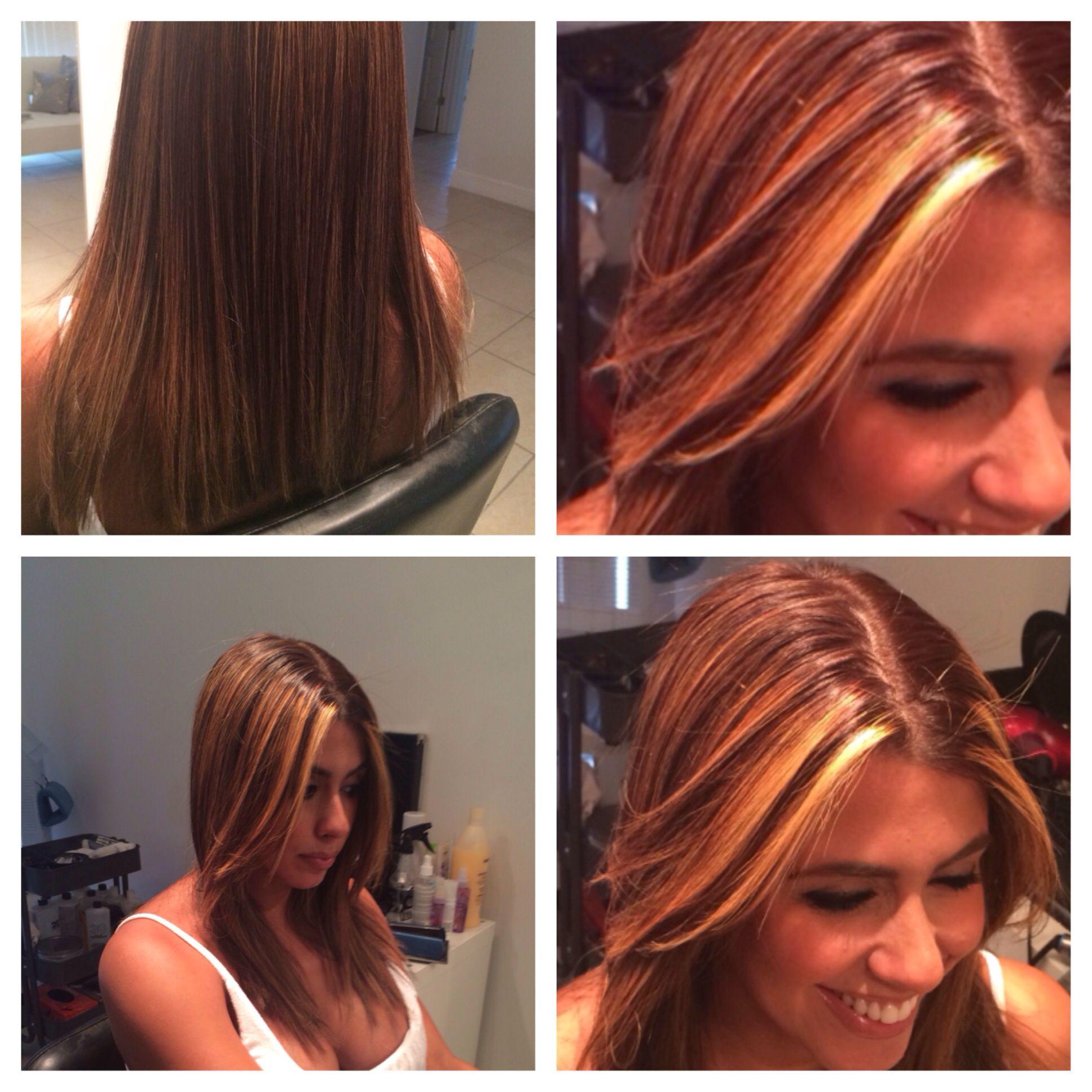 Base Walnut Highlights Paul Mitchell Hair Color Pinterest