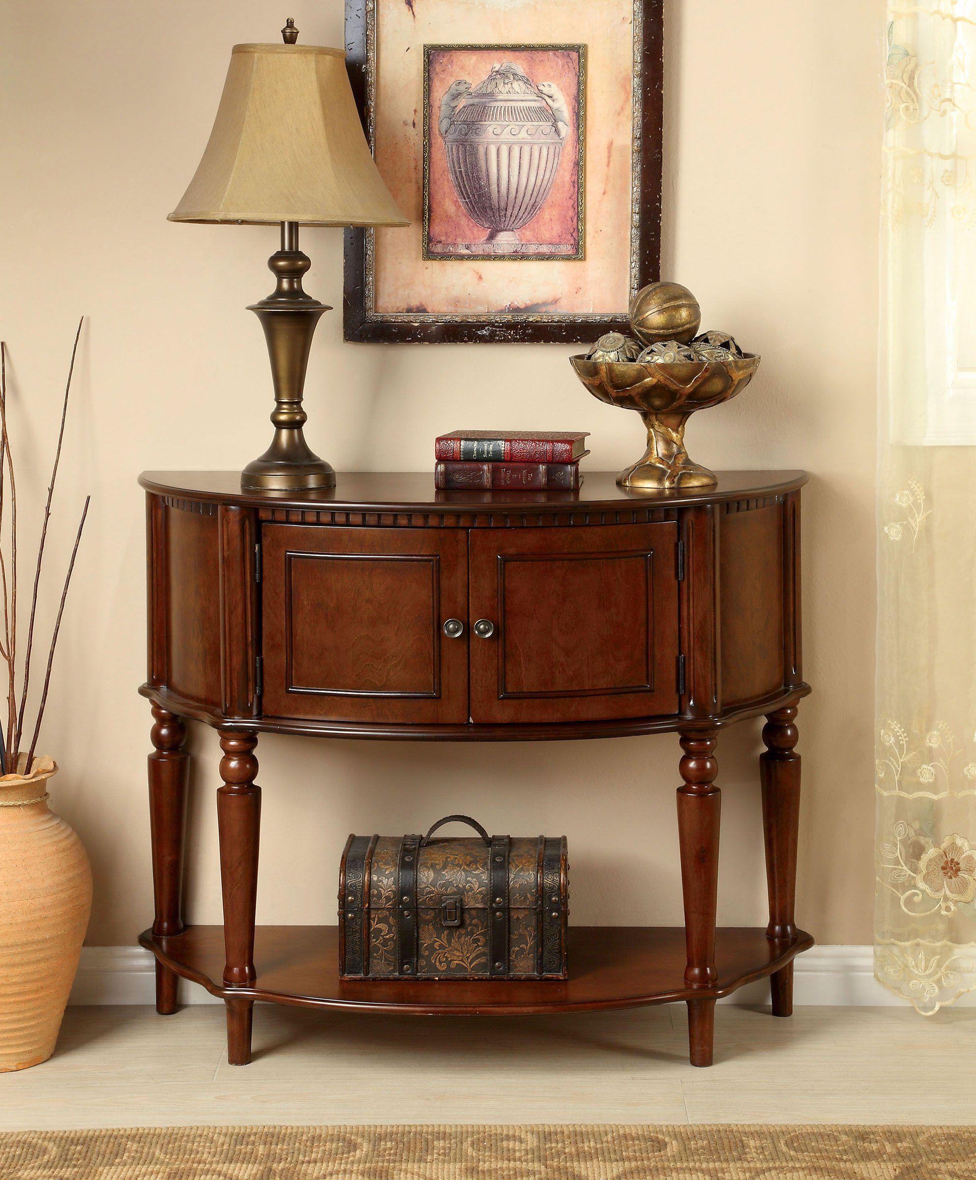 Furniture Of America Cm Ac6714 Roxbury Traditional Cherry Side Table Furniture Traditional Cabinets Table