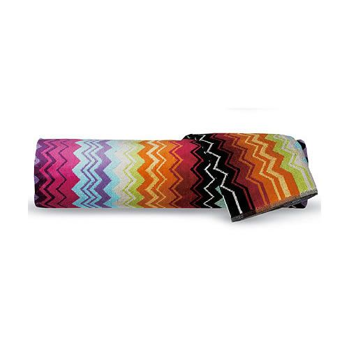 Giacomo Bath Sheet in Pink or Earth Tones by Missoni Home