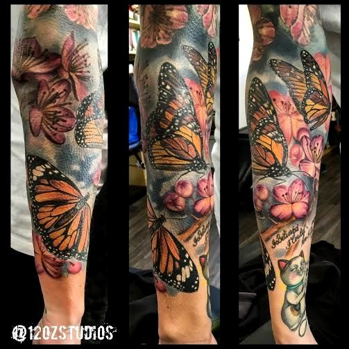 Photo of Monarch Butterfly Tattoo Gallery