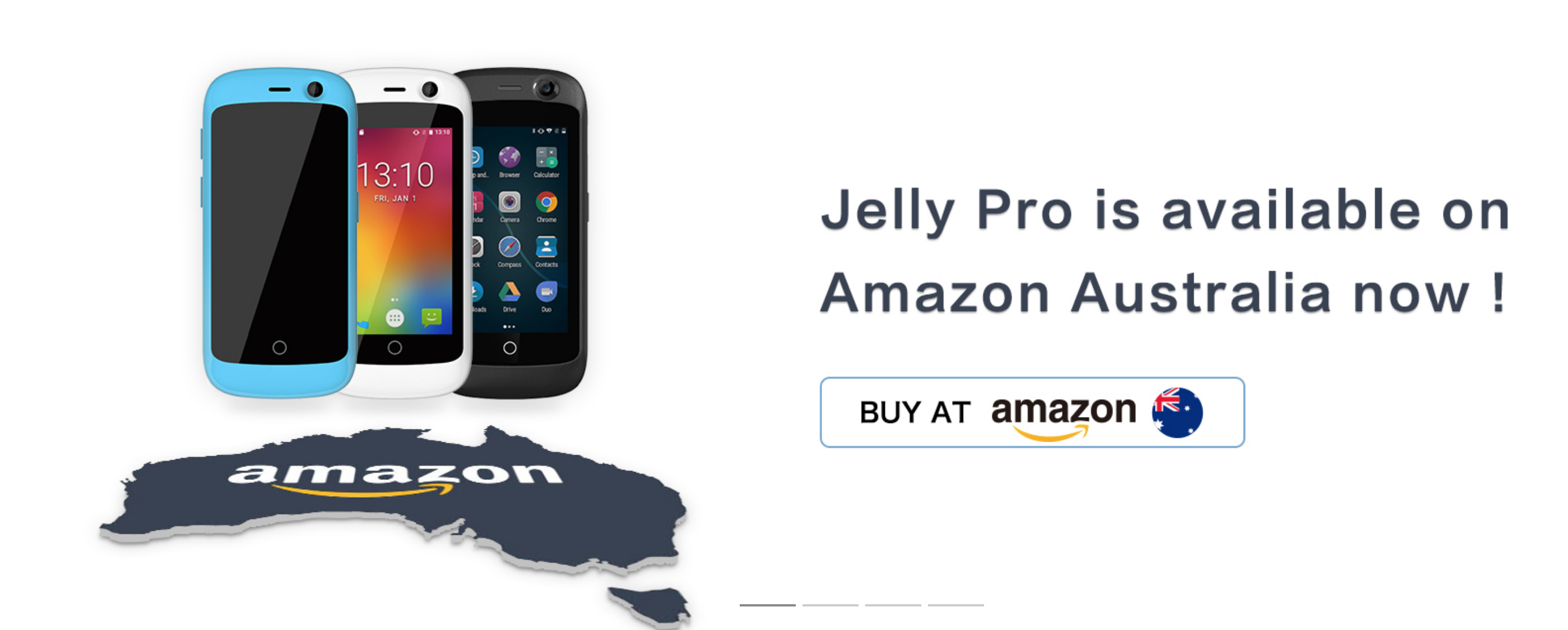 The Cute Unihertz Jelly Pro Is Now Available From Amazon Australia Ruggedised Atom Coming Soon Jelly Amazon Smartphone