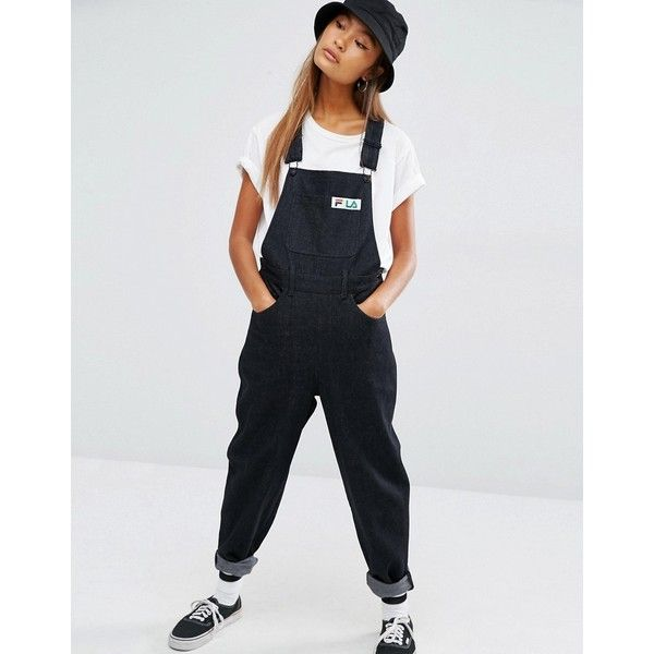 fila jumpsuit black