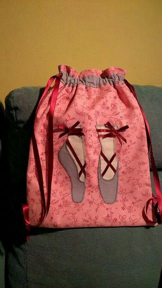 8ccd9804d Ballet Bolsa Infantil, Toalhas Bordadas, Bolsas Artesanais, Padrão De  Costura, Projetos De