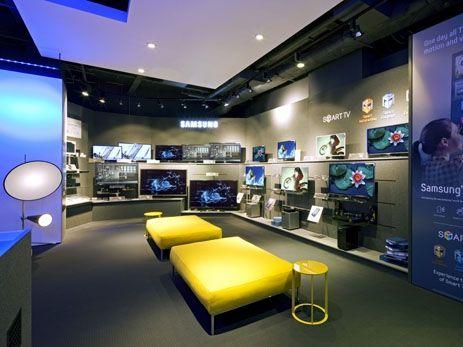 Samsung Commercial Displays >> Retail Design   Shop Design   Electrical Store Interior   Samsung, Selfridges by Dalziel and Pow ...