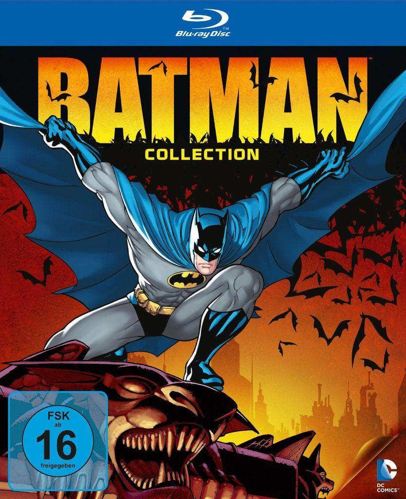 Batman collection en coffret 9blu-ray
