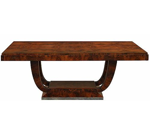 Art Deco Dining Table Dining Table Art Deco Furniture