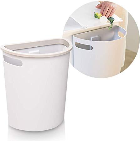 Amazon Com Subekyu Small Trash Can Hanging Waste Bin Under