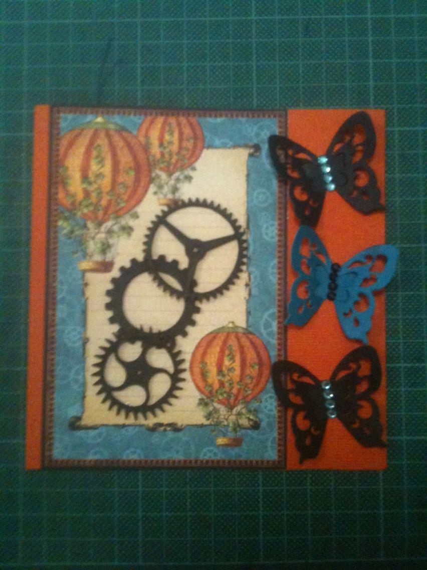 Graphic 45 Butterflies & Cogs