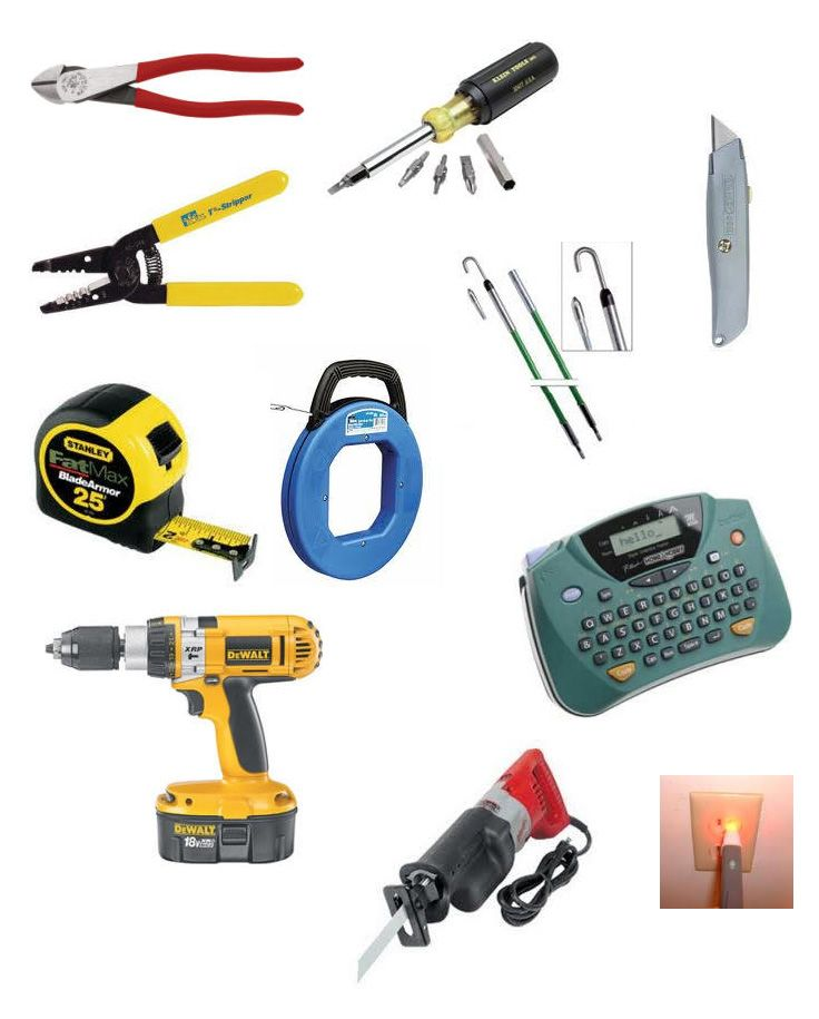 House Wiring Tools - Wiring Diagram Rows on