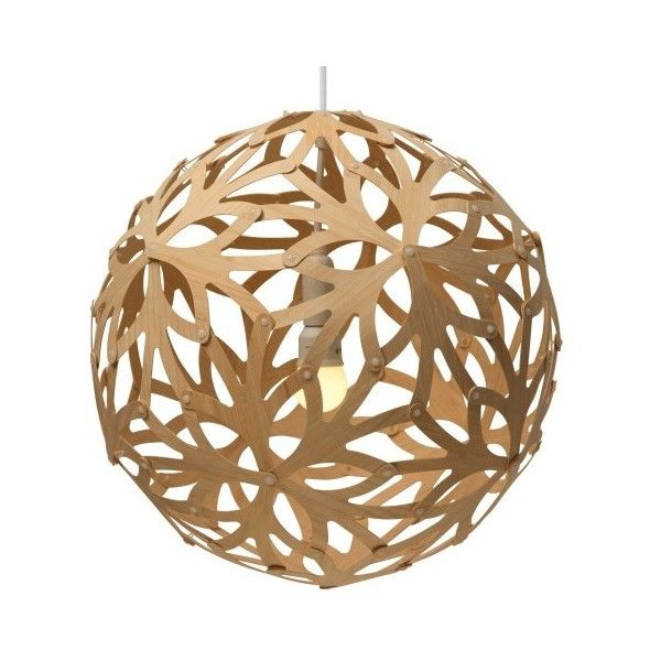 David Trubridge Design Floral Pendant ($395) ? liked on Polyvore featuring home lighting  sc 1 st  Pinterest & David Trubridge Design Floral Pendant ($395) ? liked on Polyvore ... azcodes.com