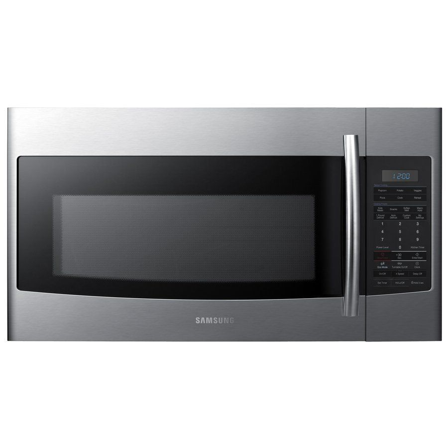 Samsung Smh1816s Xac 1 8 Cubic Ft Over The Range Microwave