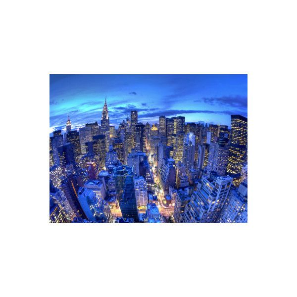 Chrysler Building and Midtown Manhattan Skyline, New York City, USA... (350 NOK) ❤ liked on Polyvore featuring home, home decor, wall art, new york city skyline wall art, nyc home decor, new york city home decor and nyc wall art