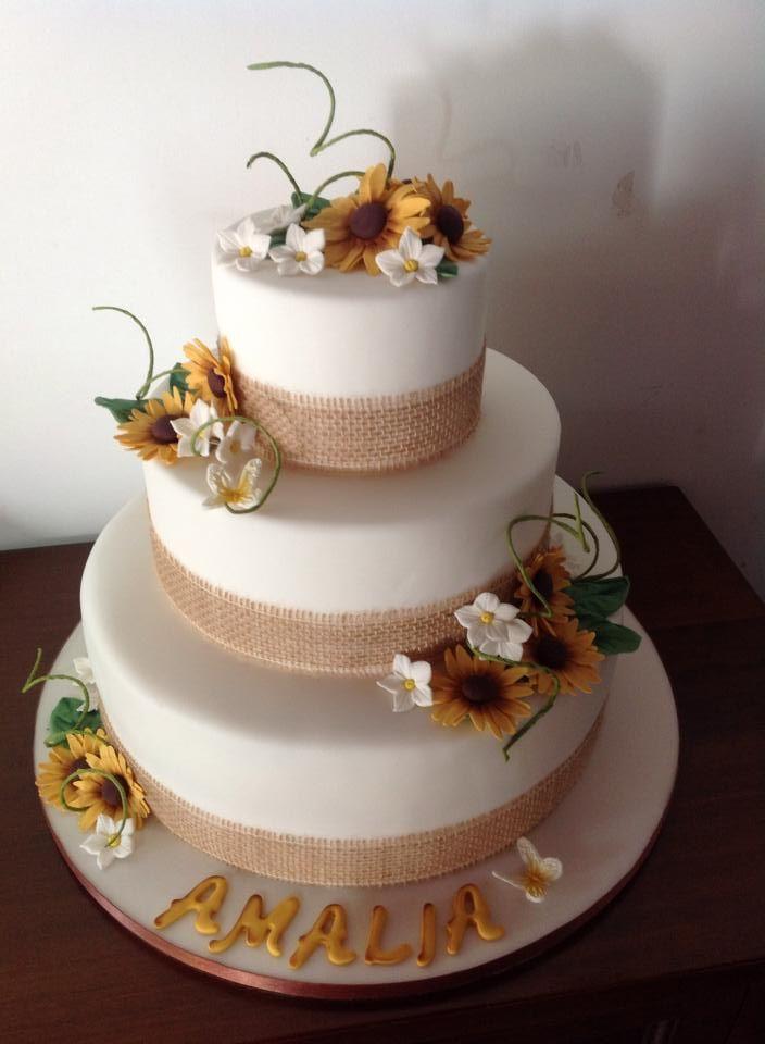 Torte Matrimonio Girasoli : Torta girasoli i l ve cakes pinterest
