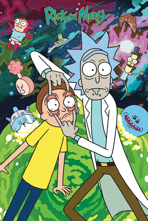 Rick And Morty - TV Show Poster / Print (Watch!!!)