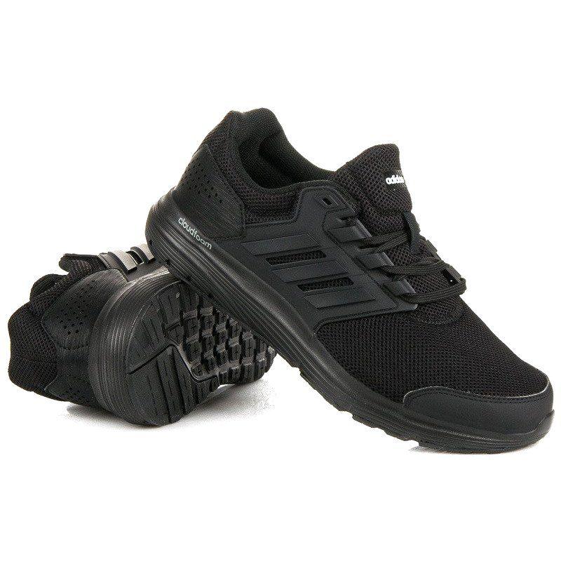 Sportowe Meskie Adidas Czarne Adidas Galaxy 4m Cp8822 All Black Sneakers Black Sneaker Shoes