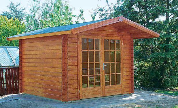 Gartenhaus aufbauen Gartenhaus selber bauen, Gartenhaus