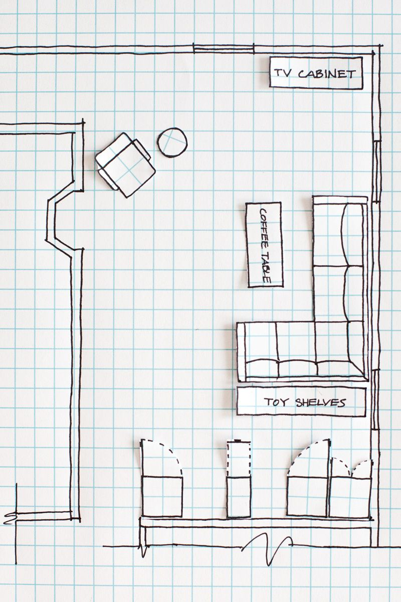 How to draw a floor plan without any special tools or for Floor plan drawing tool
