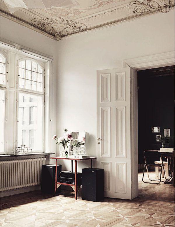 minimalismus im jugendstil altbau - Jugendstil Wohnzimmer