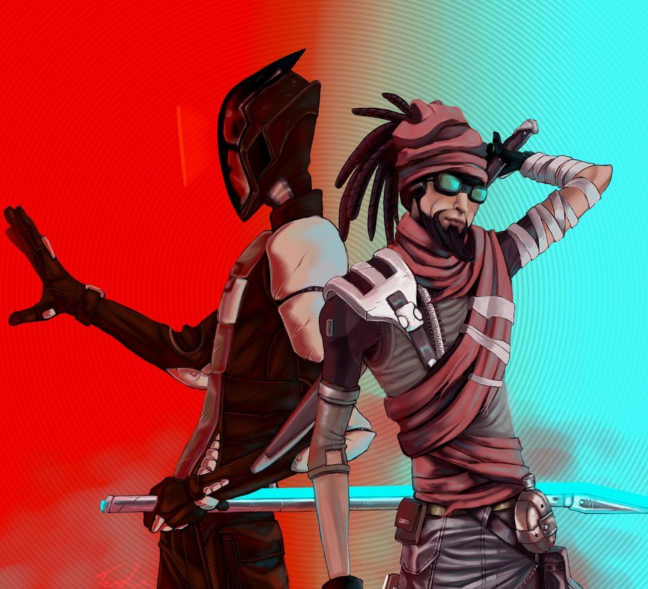 These are my 2 borderlands players mordi in the first and - Borderlands 3 box art wallpaper ...