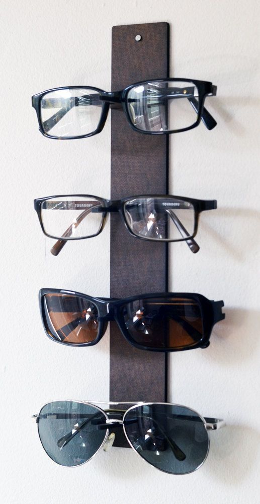 for ANYONE with LOTS OF GLASSES specs shelf eyewear