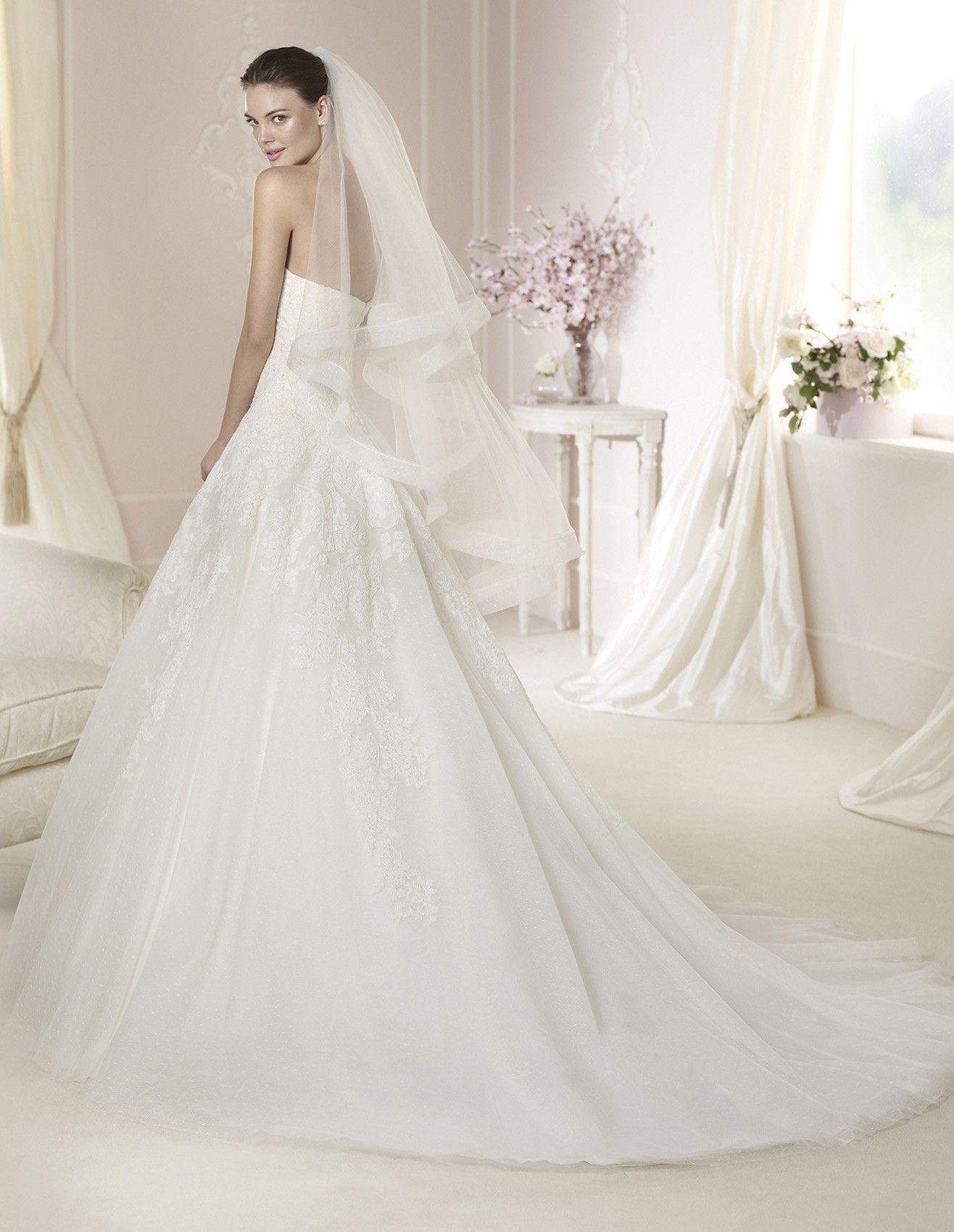 White e DARLENE Wedding dresses White e