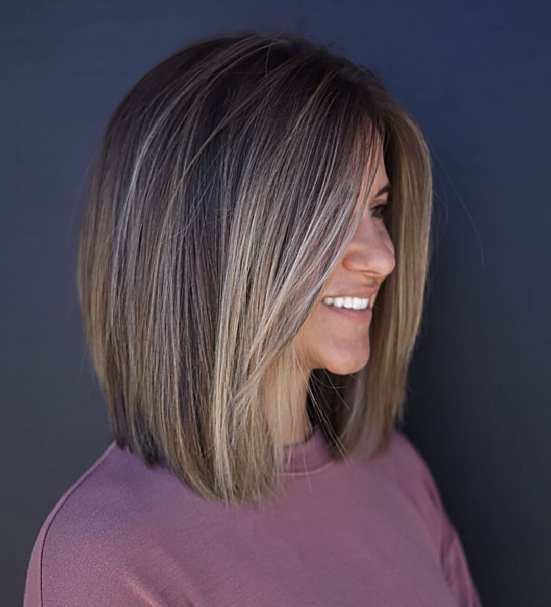 22 Stunning Long Bob Hairstyles In 2020 Long Bob Hairstyles