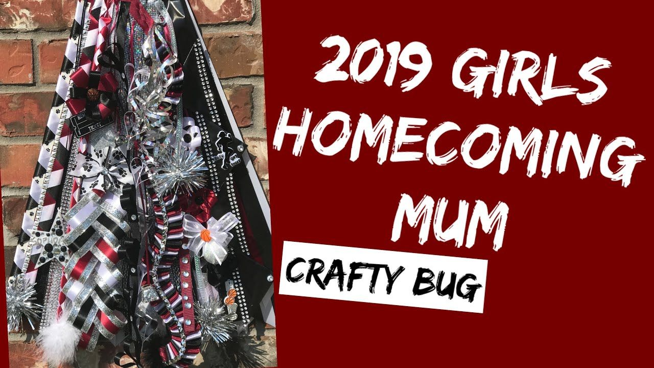 Making a Girls homecoming mum; diy homecoming mums; how to make a mid-thigh length homecoming mum