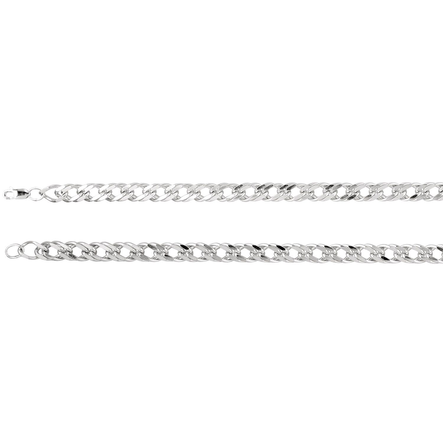 """Sterling Silver 12.3mm Curb 8"""" Chain...(CH979:101:P).! Price: $109.99 #goldchainsjewlery #jewelry #fashion #sterlingsilverchains"""