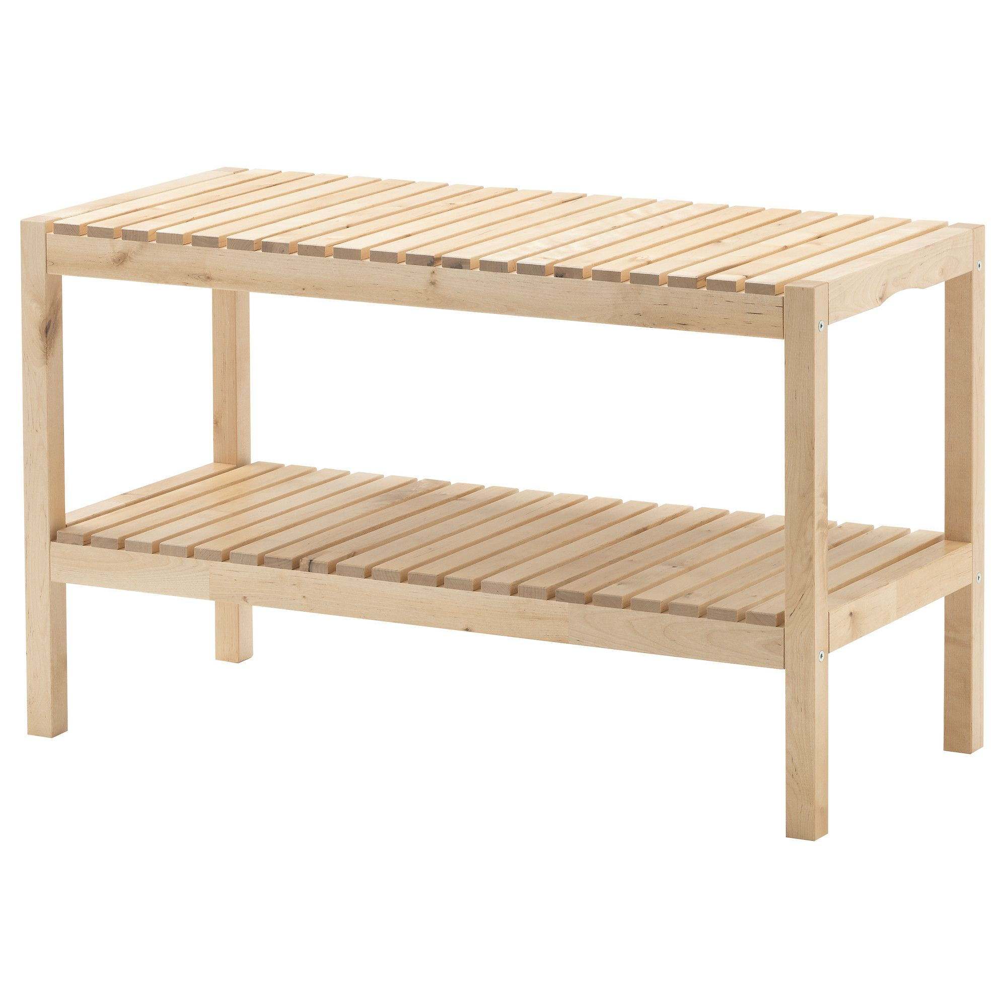 Molger Bench Birch Ikea I Have An Amazing White Mirror At My