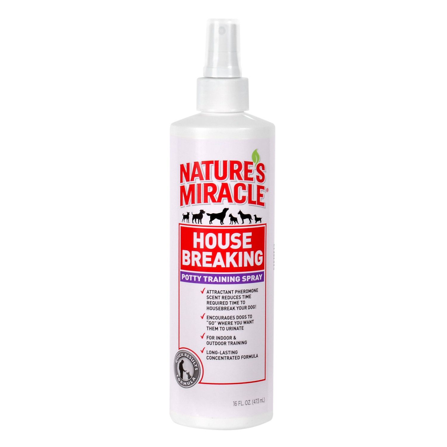 Nature S Miracle House Breaking Potty Training Spray Quick Results