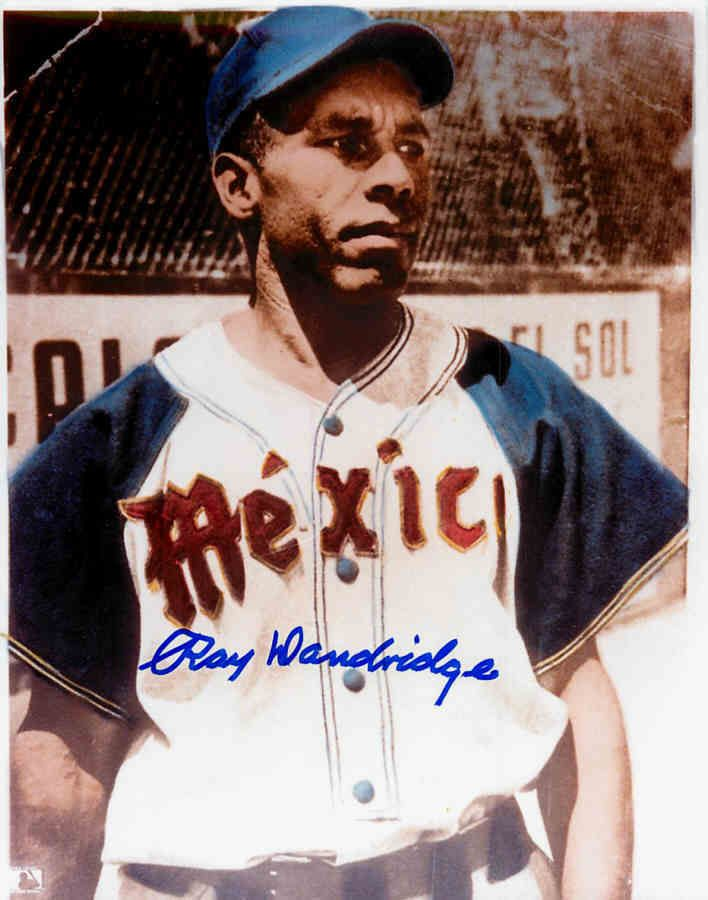 Ray Dandridge Autographed 8x10 Photo Negro League Mexico Baseball Hall of Fame | eBay
