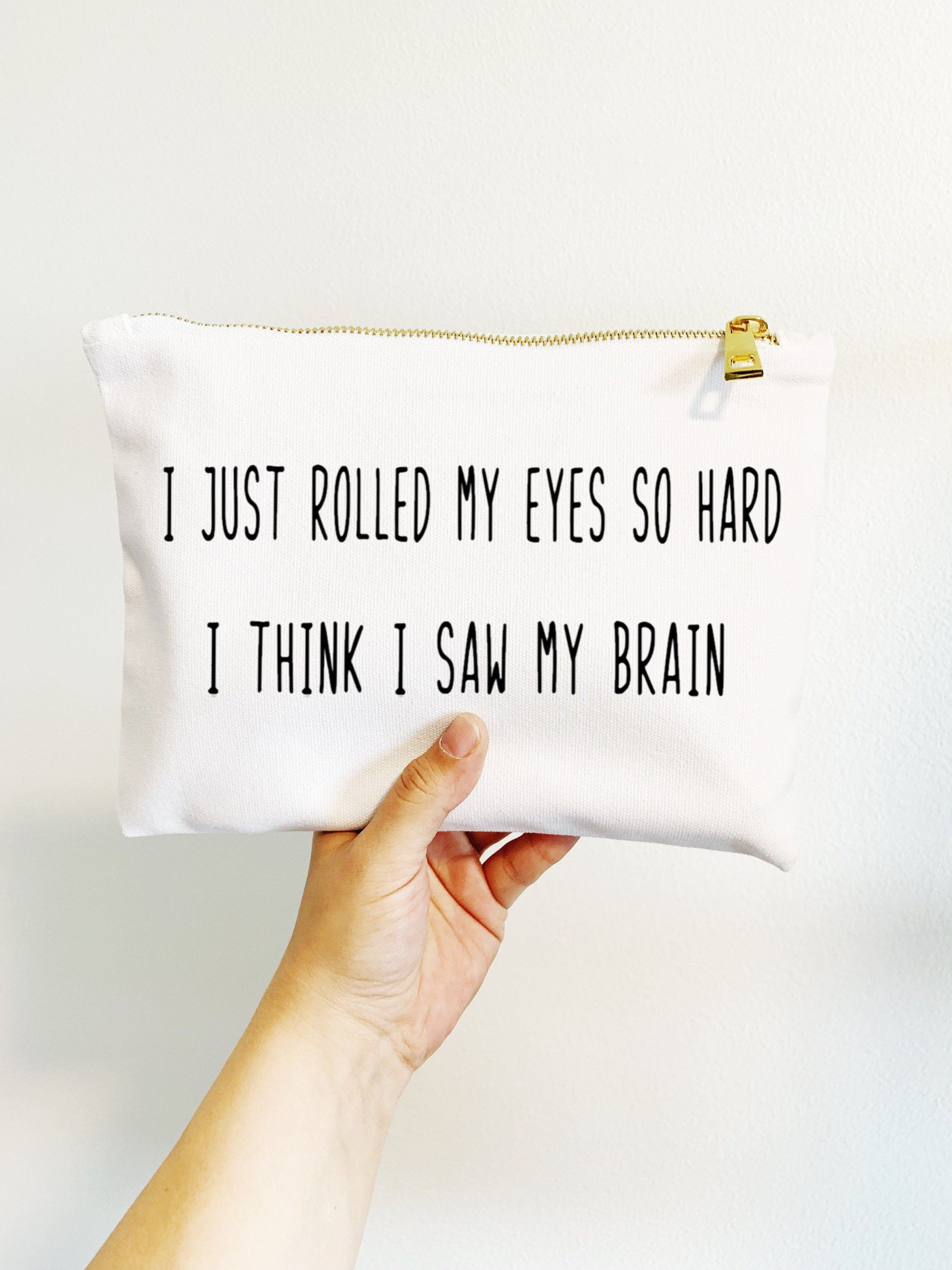 This Item Is Unavailable Etsy Funny Makeup Bag Cosmetic Bag Gift Funny Bags
