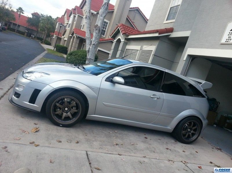 Ford Focus Four Door Zx5 Silver Sport Ford Focus Svt Ford Focus