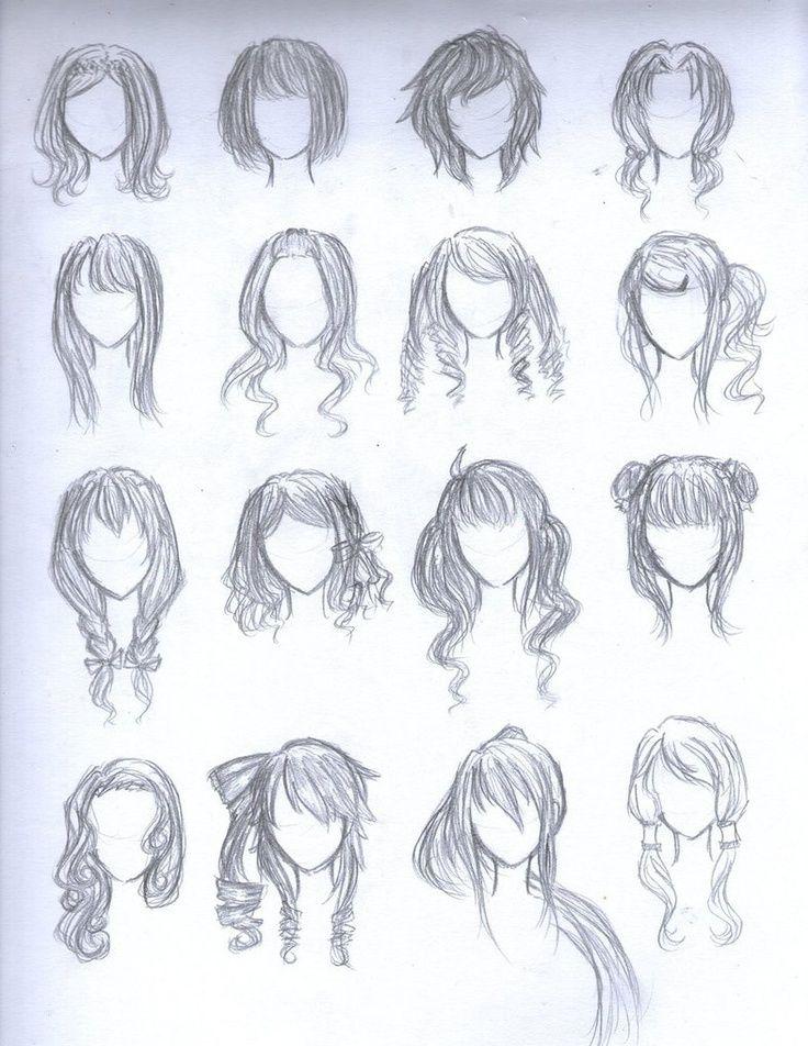 chibi girl hairstyles Google Search Chibi hair, Manga