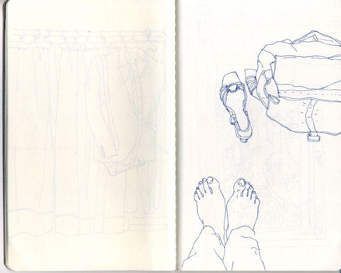 sketches - Juriko Kosaka