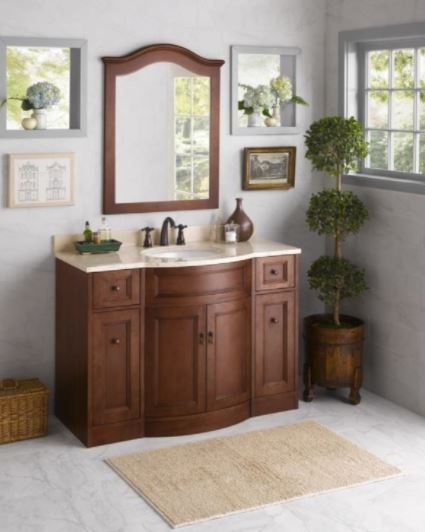 Ronbow Marcello 060648 F11 Traditions Bathroom Vanity Cabinet Base 48 1897 50