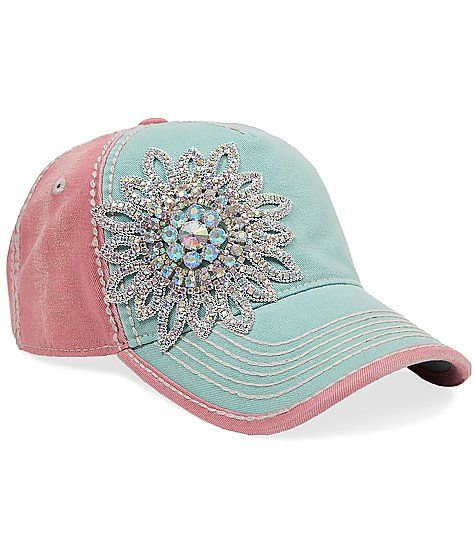 Olive   Pique Bling Hat - Women s Hats  5e5391c63