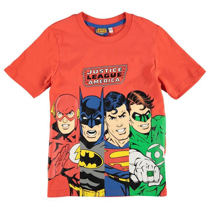 Boys dc comics justice league t shirt kids birthday Boys superhero t shirts