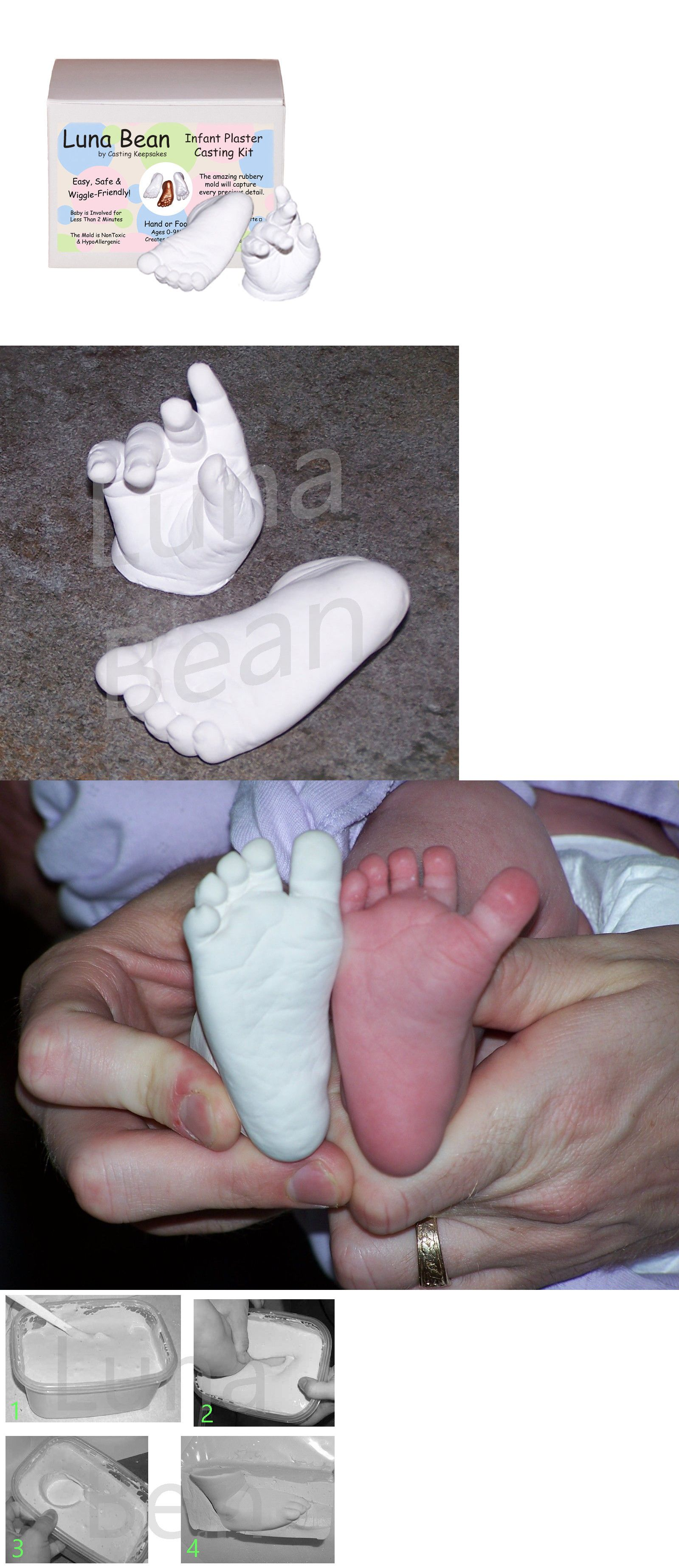 Moldmaking and Casting Materials 153913: Luna Bean Infant