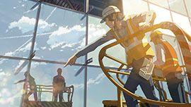 "Taisei Corporation TV CM ""Vietnam Noi Bai Airport"" | Film Works | Makoto Shinkai Works"