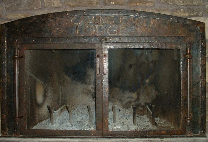 Forged Fireplace Doors For The Home Pinterest Fireplace Doors