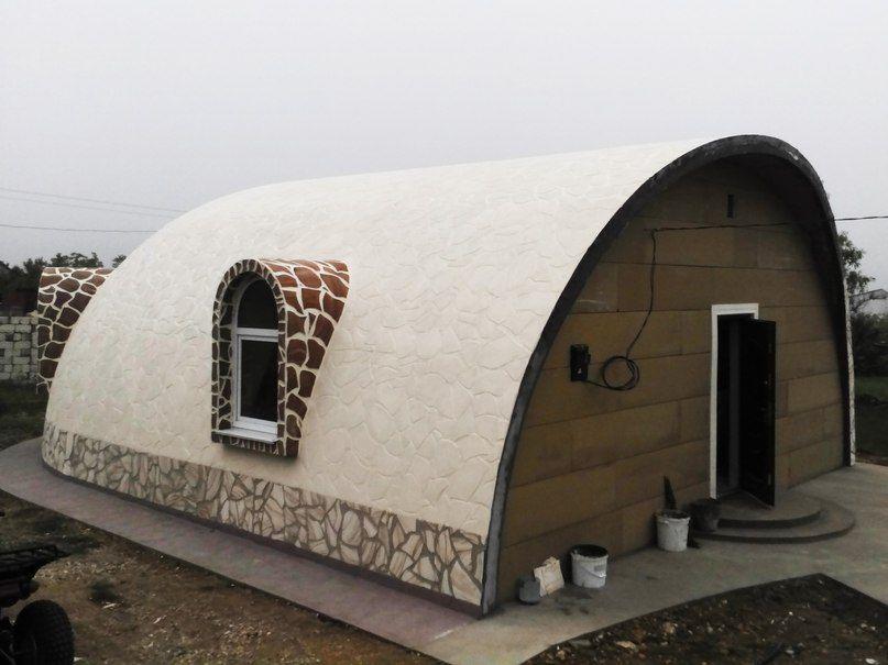как построить купольный дом своими руками: 26 тыс ...