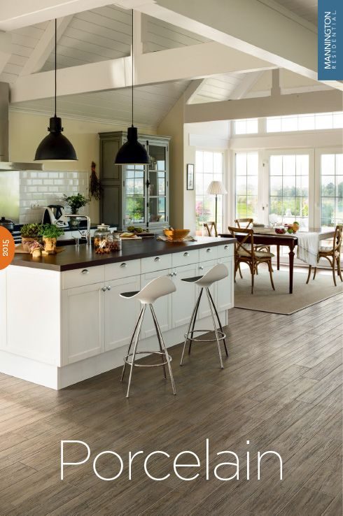 Porcelain Tile Slate Wood Look Mannington Flooring