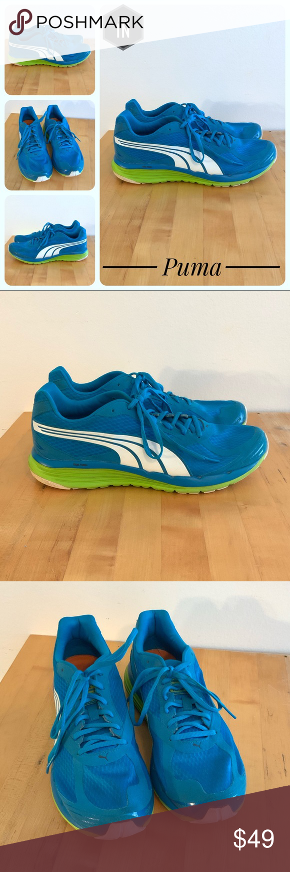 Puma 1000 S Ignite Running Shoes Size