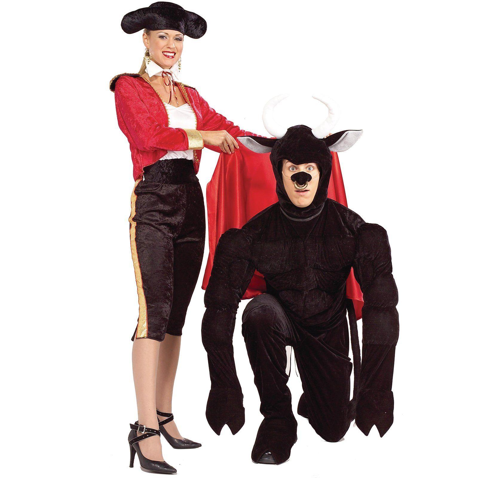 Funny Matador and Bull costumes!   Couples Halloween   Pinterest ...