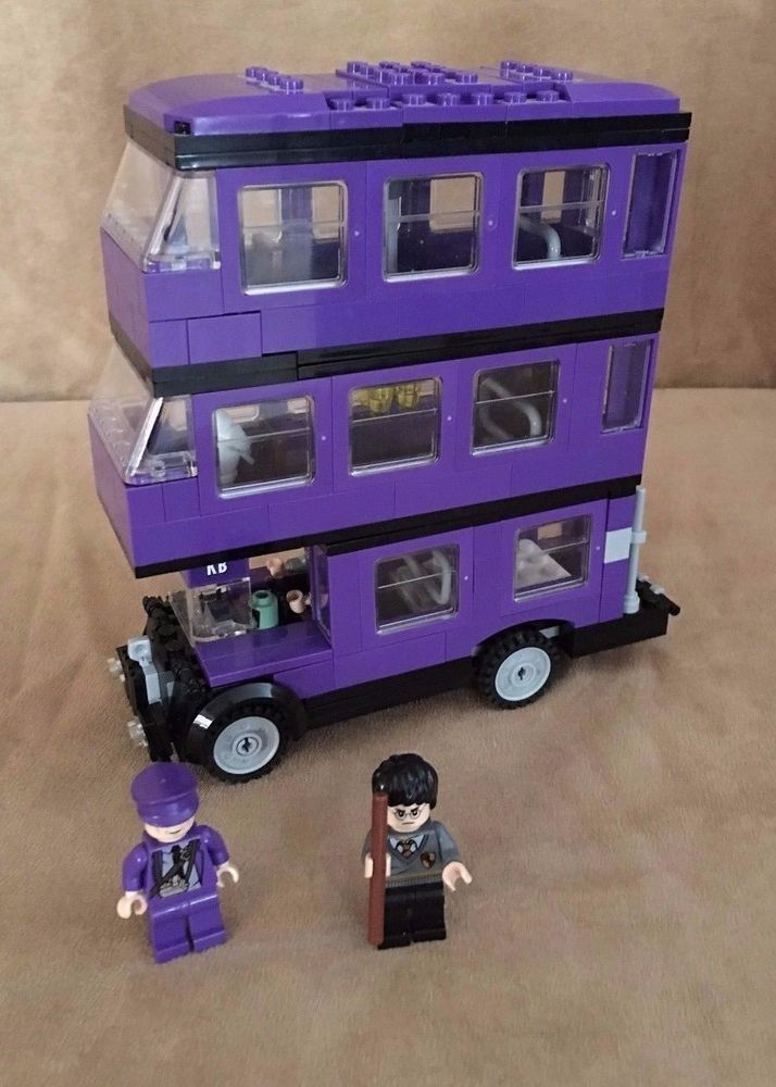 4866 Lego Complete Harry Potter The Knight Bus Instruction Book